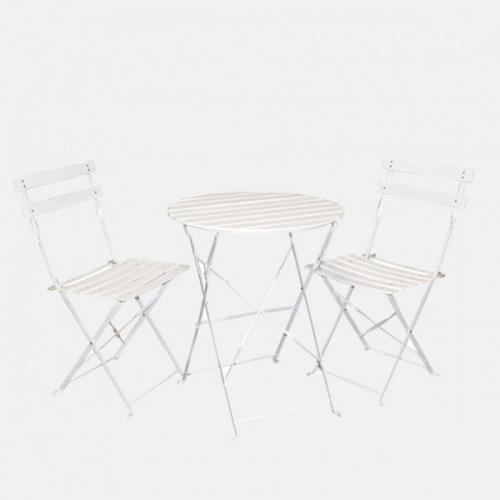 Градински сет с маса и два стола