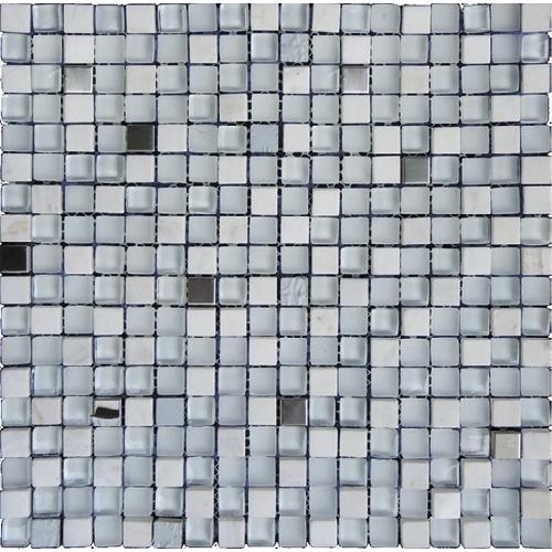 Стъклокерамична мозайка с камък SGW-82