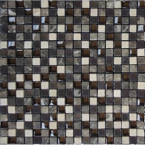 Стъклокерамична мозайка с камък 78