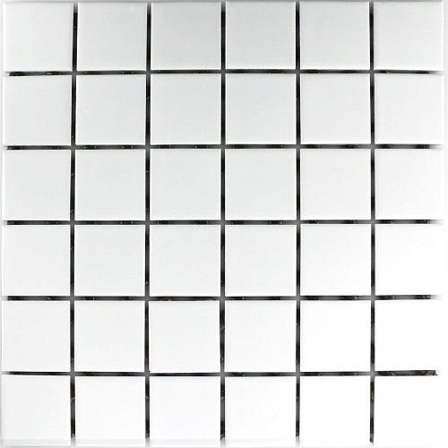 Керамична мозайка MATT WHITE CERAMIC