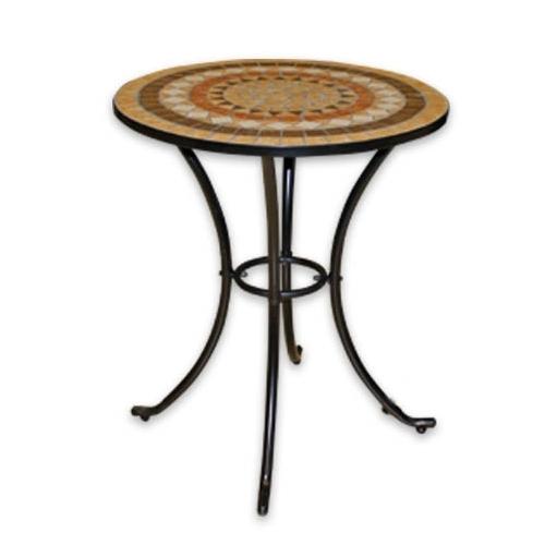 Кръгла маса с плот мозайка