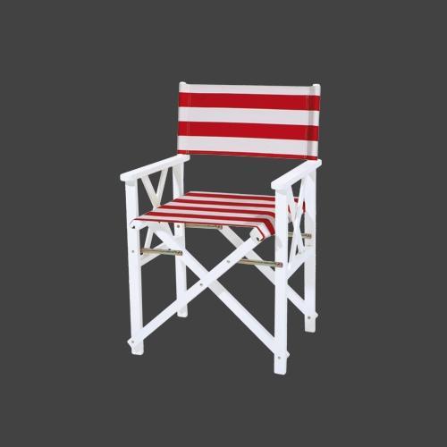 Сгъваем градински стол с размери 56*48*87