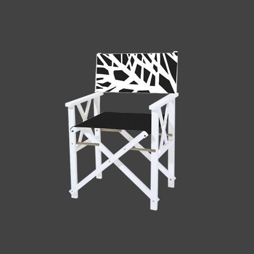 Сгъваем градински стол с размери 56*48*87 h
