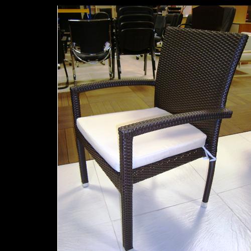 Възглавница за стол, бежова