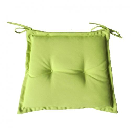 Възглавничка за стол в зелен цвят