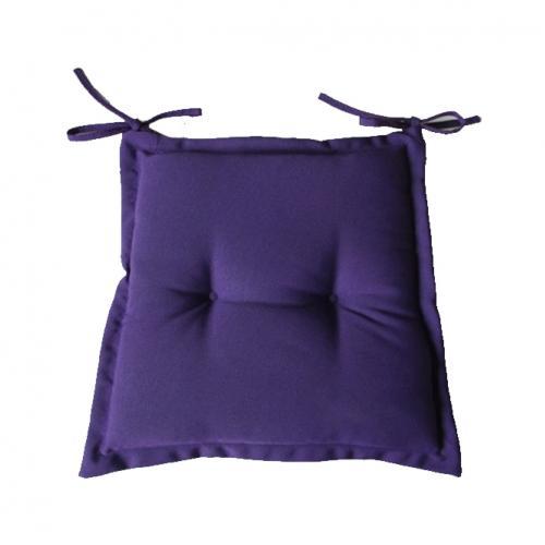 Възглавничка за стол в лилав цвят