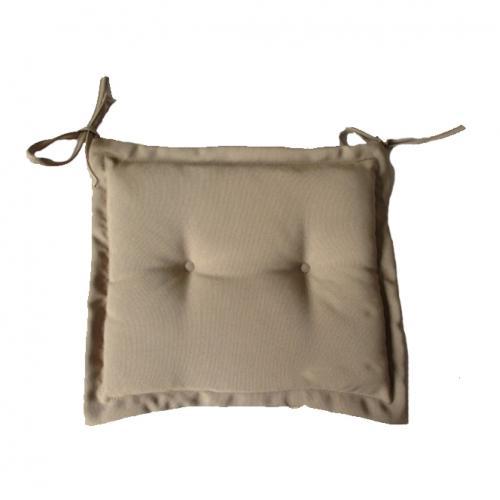Възглавничка за стол в бежав цвят