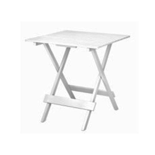 Дървена квадратна маса за тераса или градина
