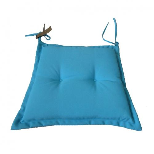 Възглавничка за стол в син цвят