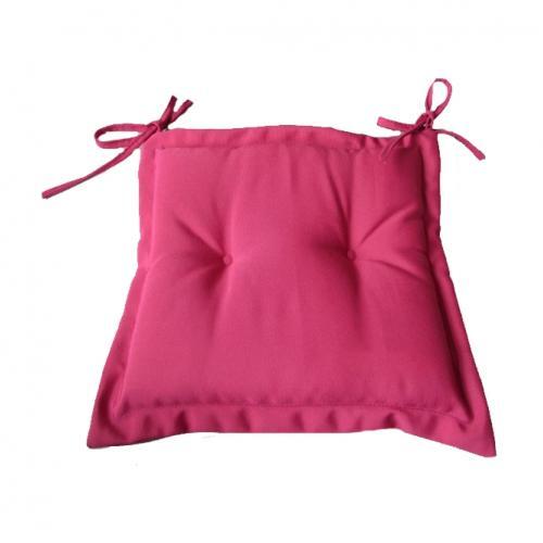Възглавничка за стол в розов цвят