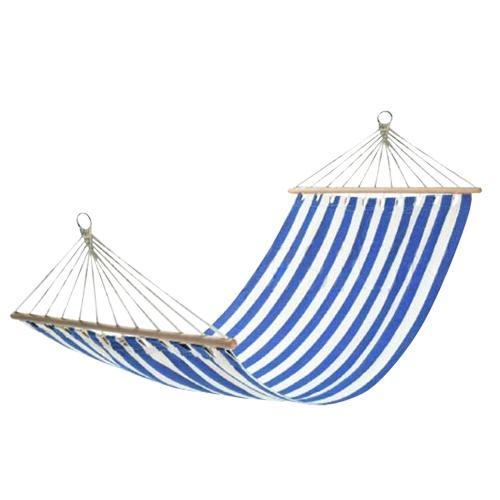 Хамак в синьо-бяло райе с размери 200*80см