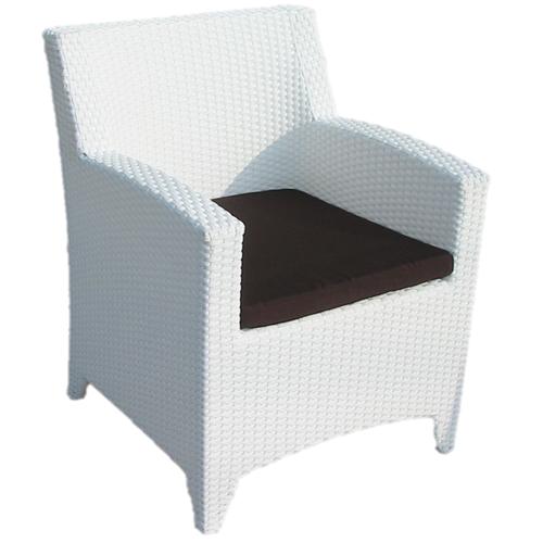 Възглавница за трапезарен стол, кафява