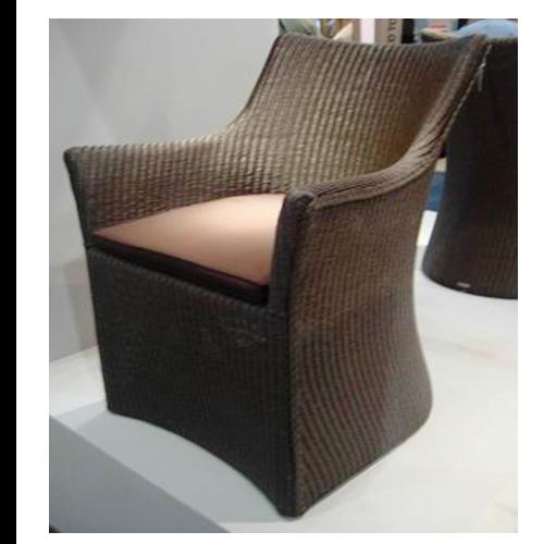 Трапезарен градински стол венге