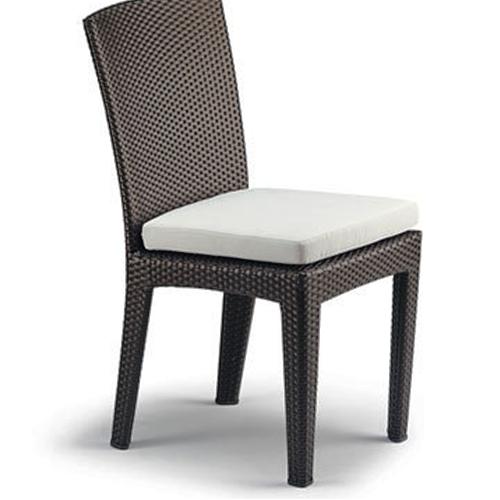 Възглавница за стол, в бежов цвят