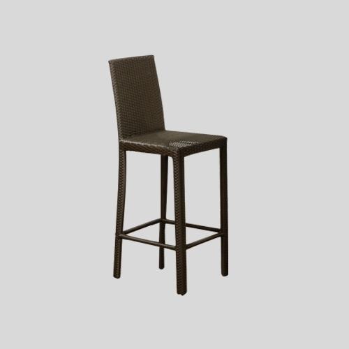 Висок бар стол с облегалка