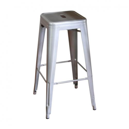 Модерен метален бар стол
