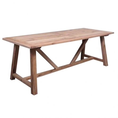 Дървена трапезарна маса
