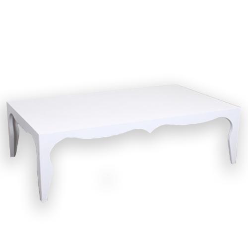Холна маса в бял цвят