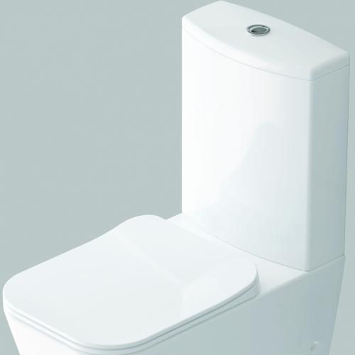 Тоалет, бял порцелан