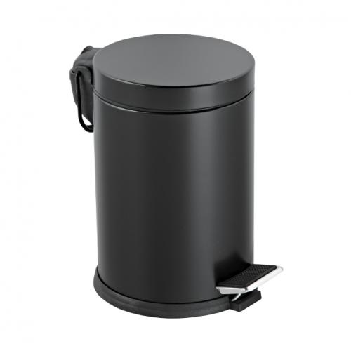 Кош за боклук в черен цвят