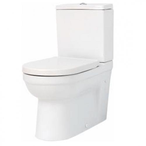 Бял комплект тоалет в две части