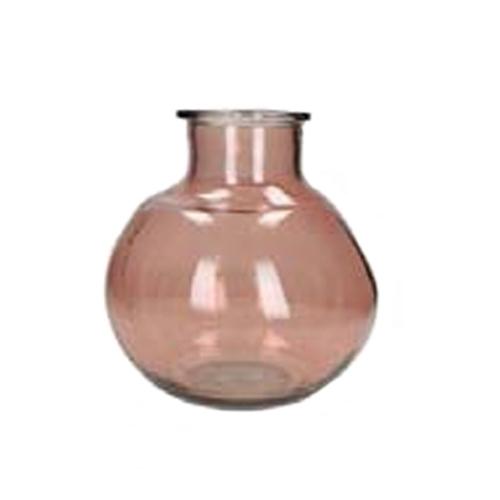 Стъклена ваза колба
