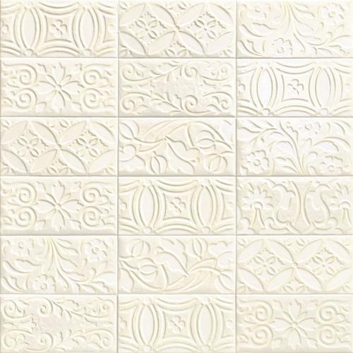 Стенни декори VELVET DECO BIANCO 10х20