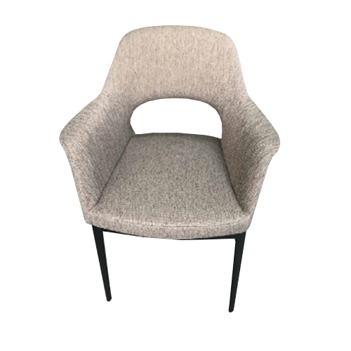 Сив трапезарен стол