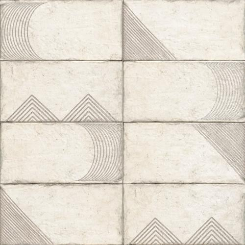 Стенни декори ALPE WHITE 15х30