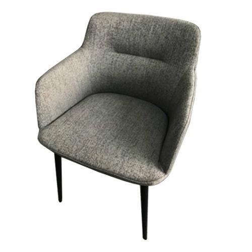 Сиво-кафяв трапезарен стол