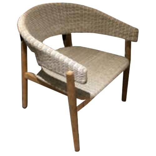 Трапезарен стол с тикова основа