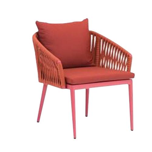 Акцентно кресло с алуминиева рамка с прахово покритие