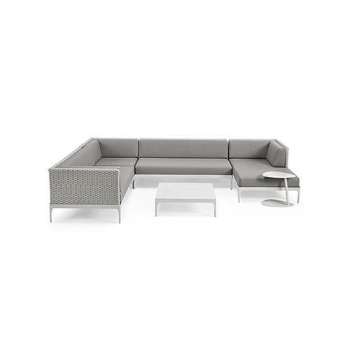 Градински модулен диван