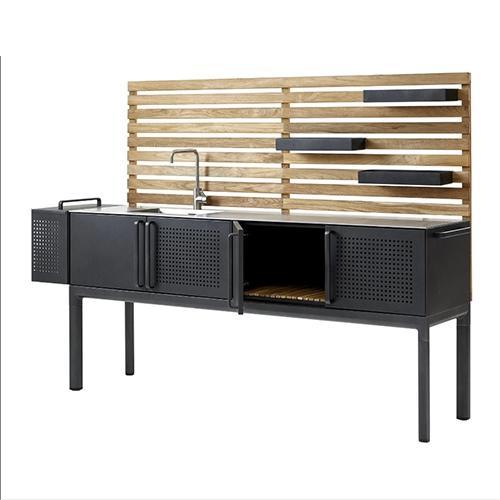 Градинска кухненска мебел