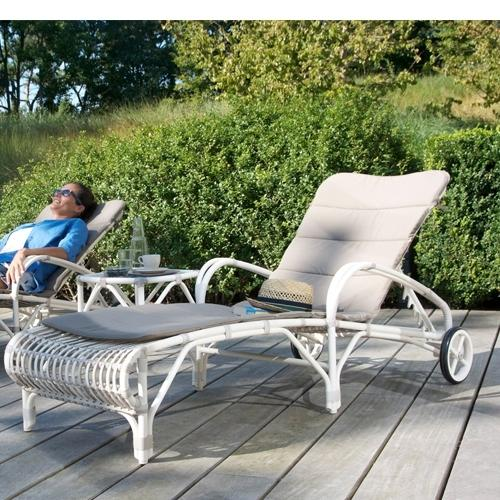 Възглавница за градински шезлонг