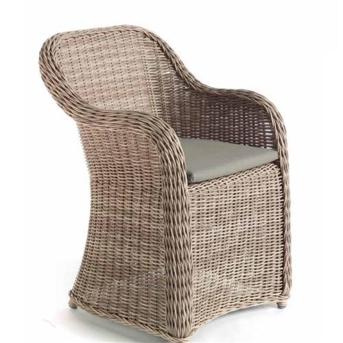 Градинско кресло с висока облегалка 61х64х84 см