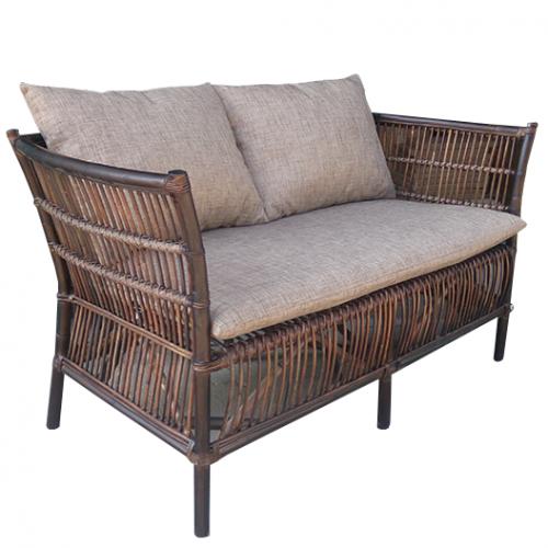 Градински диван от ратан