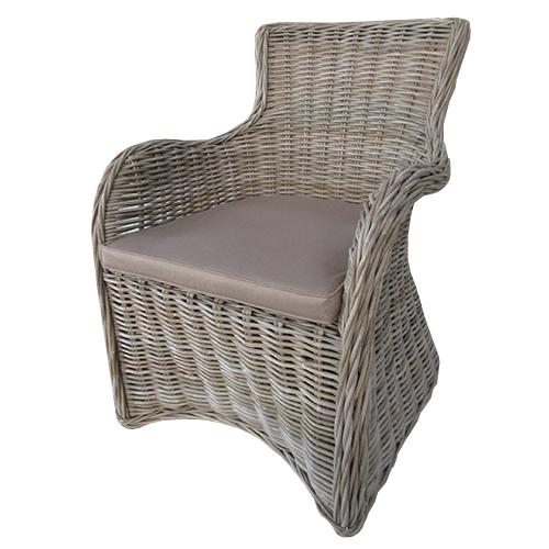 Кресло от естествен ратан