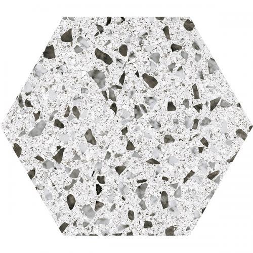 Гранитогрес VENICE WHITE HEX 25